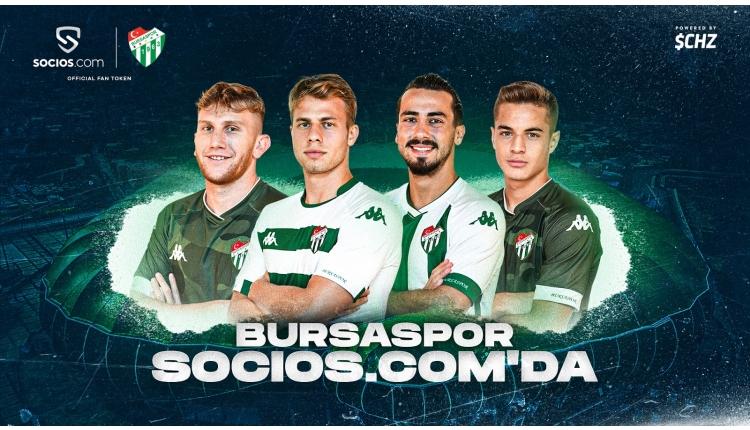 Bursaspor, Socios.com'da!