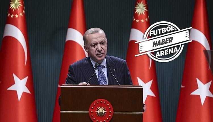 Cumhurbaşkanı Erdoğan'dan taraftar müjdesi