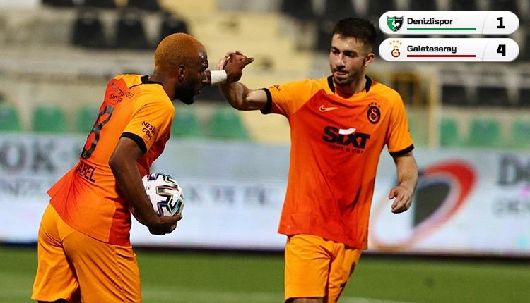 Denizlispor 1-4 Galatasaray maç özeti ve golleri (İZLE)