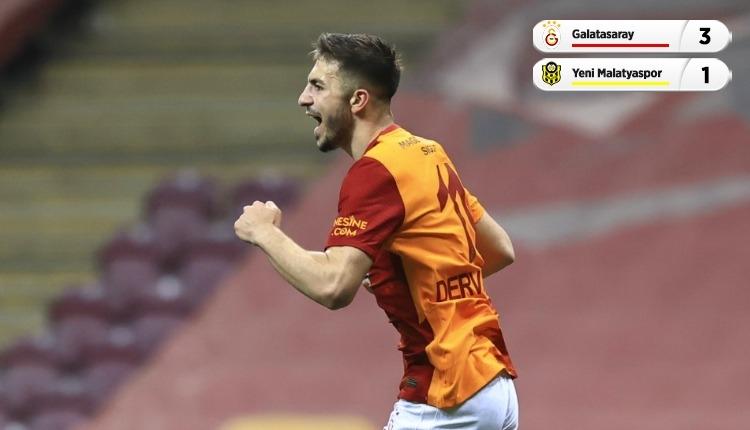 Galatasaray 3-1 Yeni Malatyaspor maç özeti ve golleri (İZLE)