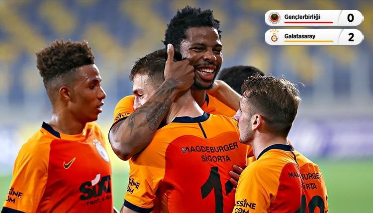 Galatasaray, Başkent'te 2 golle kazandı (İZLE)