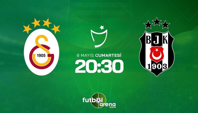 Galatasaray - Beşiktaş derbisi muhtemel 11'ler
