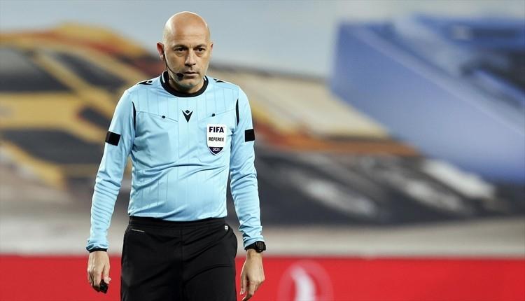 Galatasaray - Beşiktaş derbisinde hakem Cüneyt Çakır
