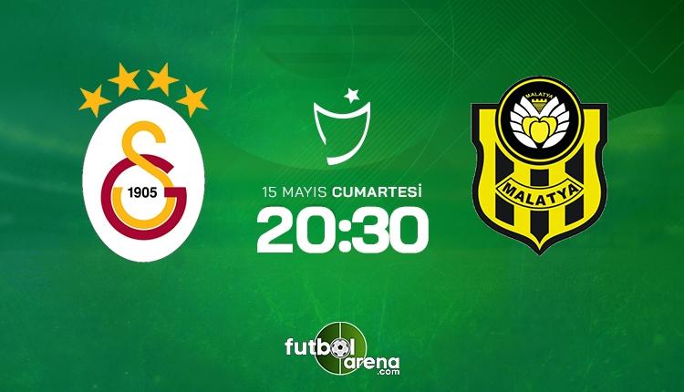 Galatasaray - Yeni Malatyaspor maçı 11'leri