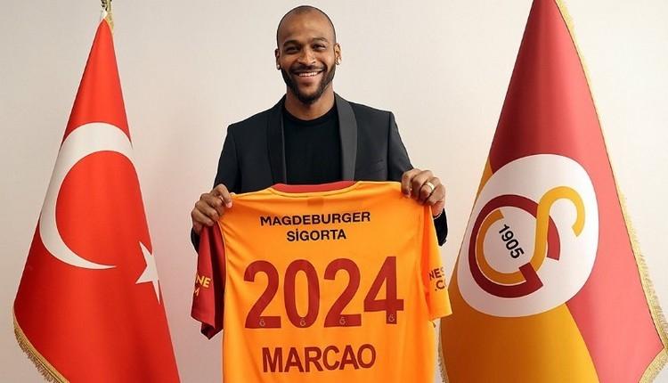Galatasaray'da Marcao'dan 3 yıllık yeni imza