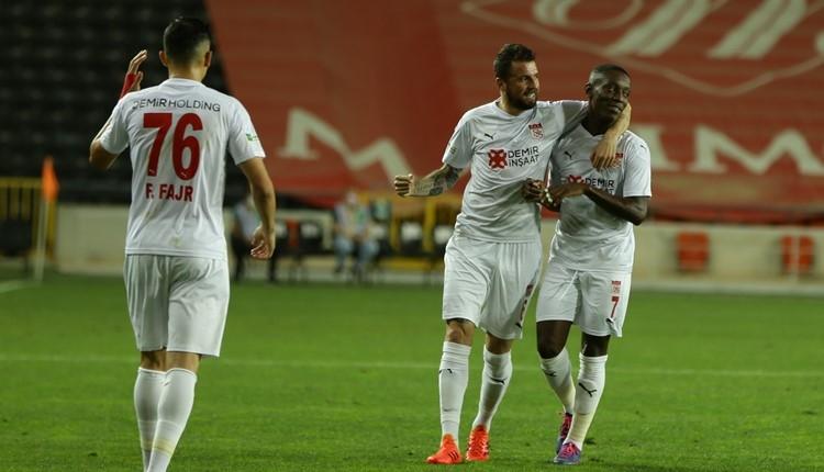 Gaziantep FK 0-1 Sivasspor maç özeti ve golü (İZLE)