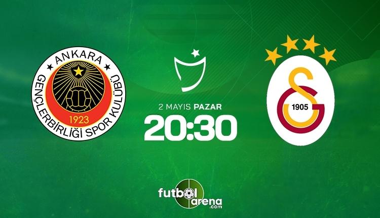 Gençlerbirliği-Galatasaray canlı izle, Gençlerbirliği-Galatasaray şifresiz izle (Gençlerbirliği-Galatasaray beIN Sports canlı ve şifresiz İZLE)