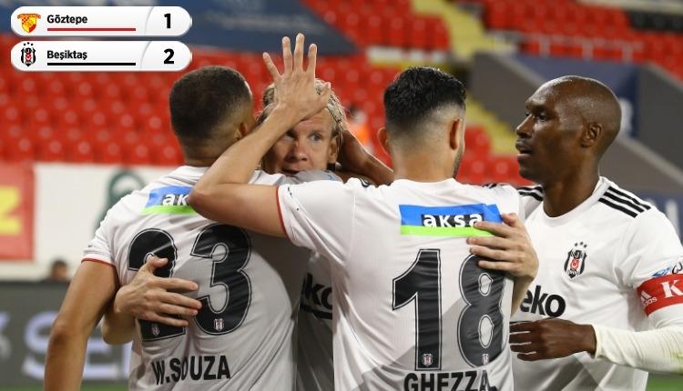 Göztepe 1-2 Beşiktaş maç özeti ve golleri (İZLE)