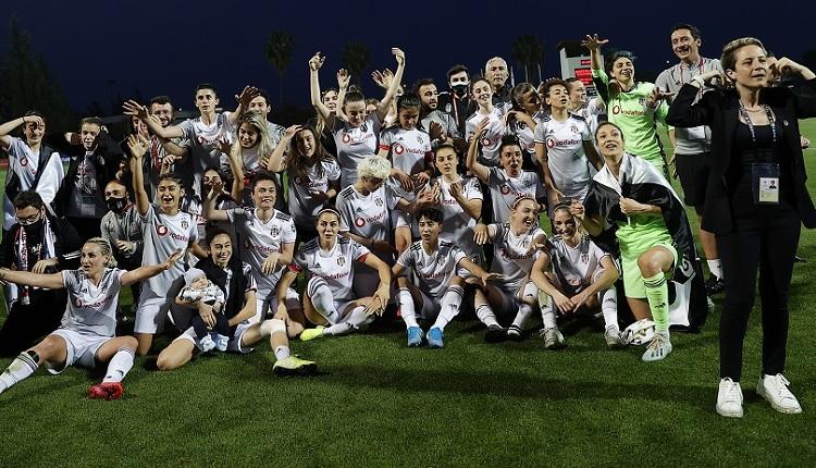 Kadınlar Futbol Ligi şampiyonu Beşiktaş