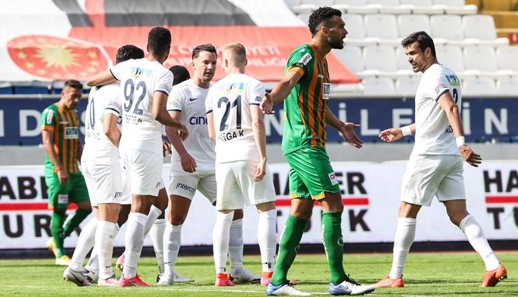 Kasımpaşa 3-0 Alanyaspor maç özeti ve golleri (İZLE)