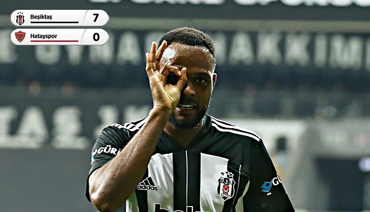 Lider Beşiktaş, Hatayspor'a gol yağdırdı! (İZLE)