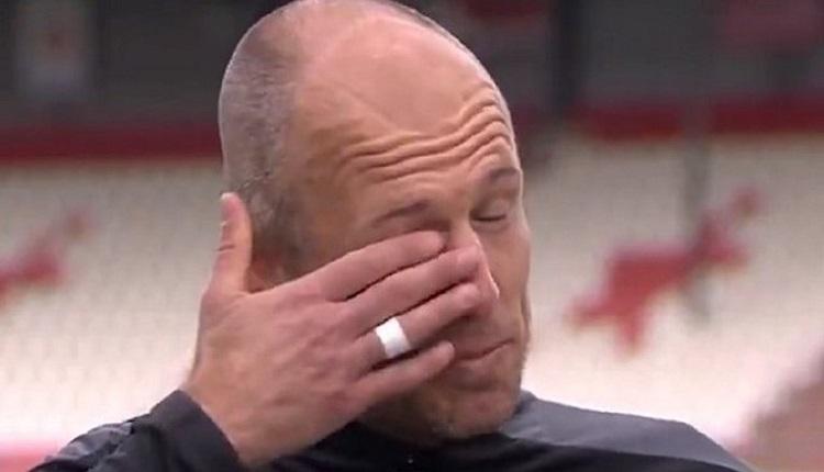 Robben'den 2 asist! Gözyaşlarını tutamadı