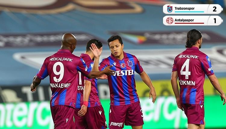 Trabzonspor 2-1 Antalyaspor maç özeti ve golleri (İZLE)