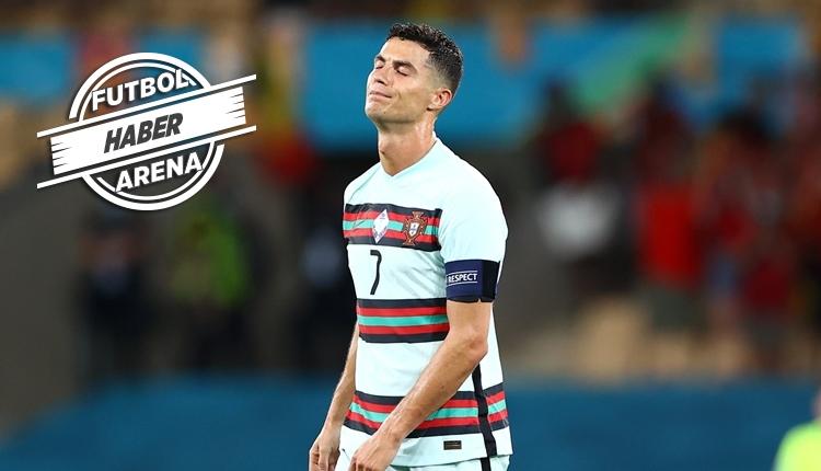 Cristiano Ronaldo maç sonu yıkıldı (Belçika 1-0 Portekiz maç özeti izle)