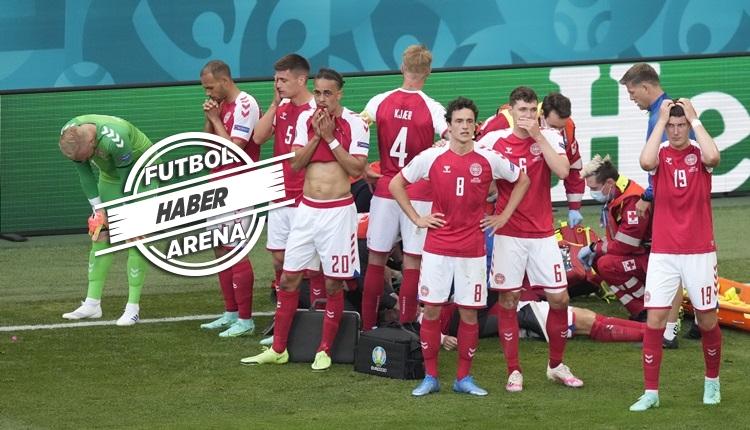 Eriksen'in sağlık durumu! Danimarka - Finlandiya maçında şok