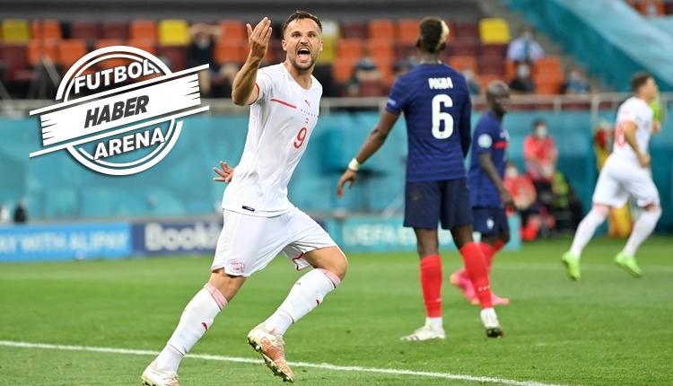 Fransa elendi! İsviçre ile İspanya eşleşti! 2 maçta 14 gol (İZLE)