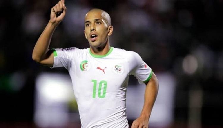 Galatasaraylı Feghouli'den Cezayir maçında 2 gol