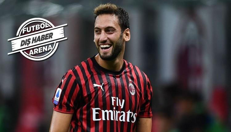 Hakan Çalhanoğlu transferi açıkladı: 'Artık Inter'deyim'
