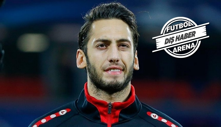Hakan Çalhanoğlu'na Atletico Madrid'den transfer teklifi