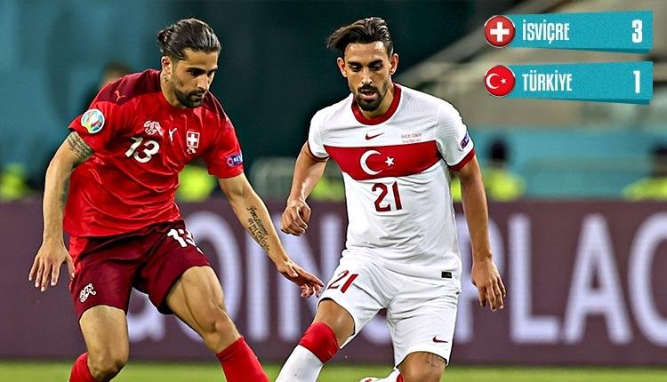 İsviçre 3-1 Türkiye maç özeti ve golleri (İZLE)