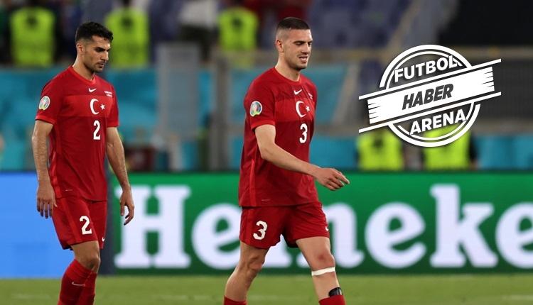 Milli futbolcularımızdan İtalya yenilgisi sözleri: 'Başımız dik'