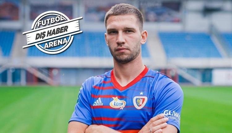 Trabzonspor'un listesindeki Polonyalı golcü Jakup Swierczok