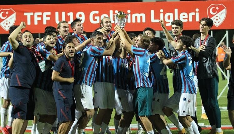 U19 Elit Gelişim Ligi şampiyonu Trabzonspor! Sezonun enleri...