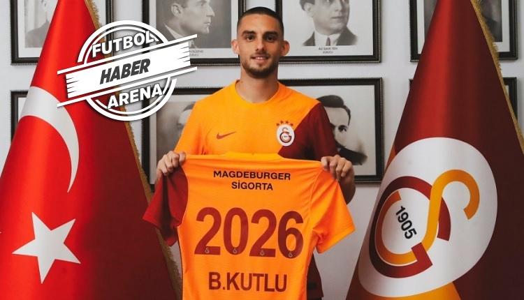 Berkan Kutlu Galatasaray ile 5 yıllık sözleşme imzaladı