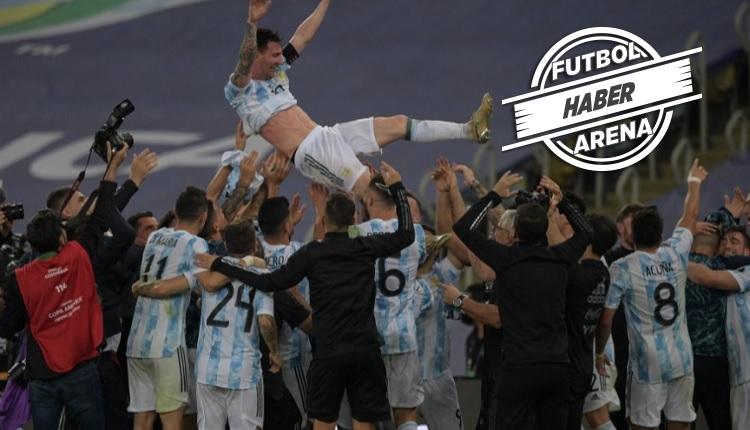 Copa America şampiyonu Arjantin