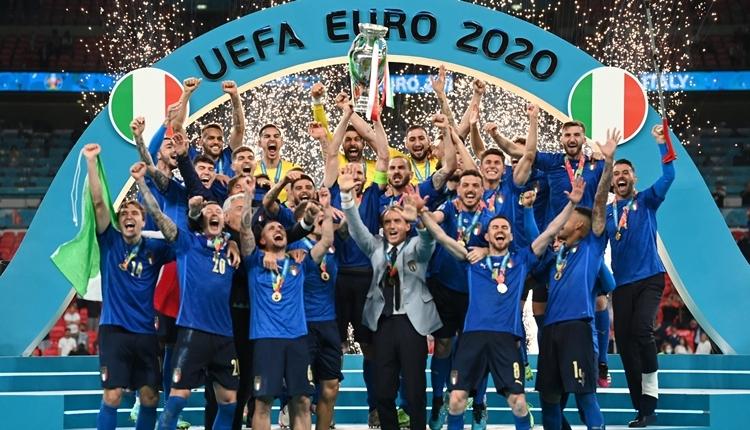 Euro 2020 şampiyonu İtalya oldu! (İZLE)