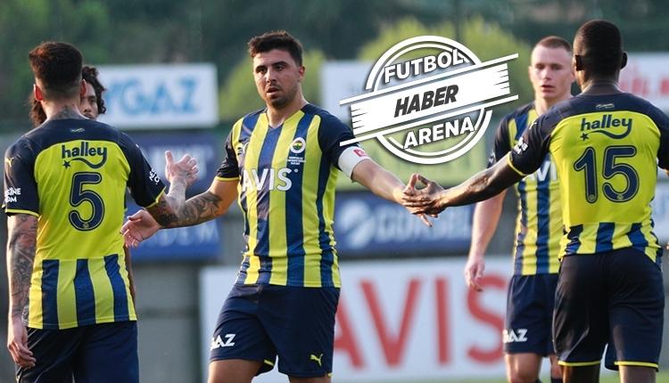 Fenerbahçe'nin hazırlık maçları programı belli oldu