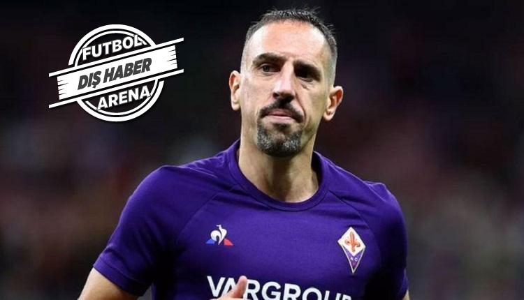 Franck Ribery boşta kaldı! Fiorentina'ya sitem