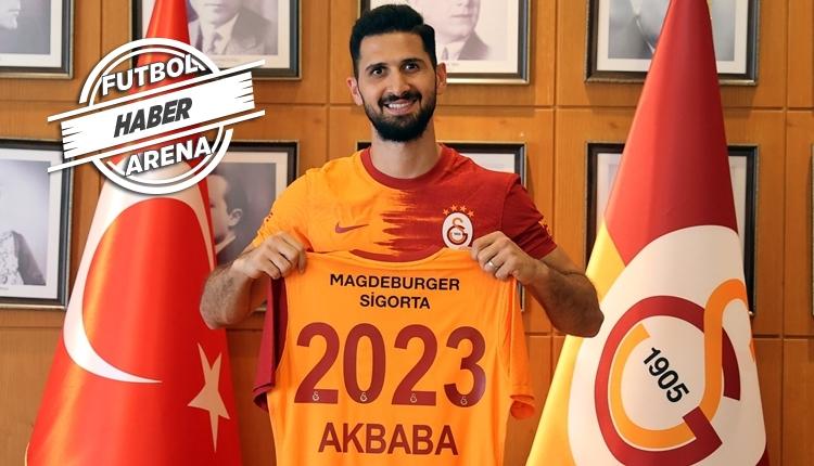 Galatasaray, Emre Akbaba ile yeni sözleşme imzaladı