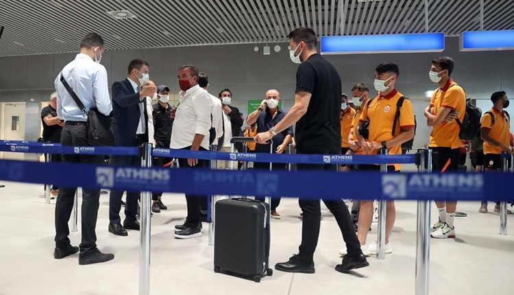 Galatasaray'dan Yunanistan'da şok tavır! Kafile İstanbul'a döndü