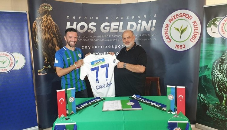 Gökhan Gönül, Çaykur Rizespor'a transfer oldu