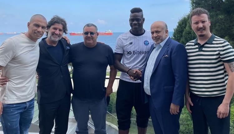Mario Balotelli resmen Adana Demirspor'da! 3 yıllık sözleşme