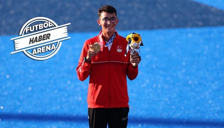 Olimpiyat şampiyonu Mete Gazoz tarih yazdı