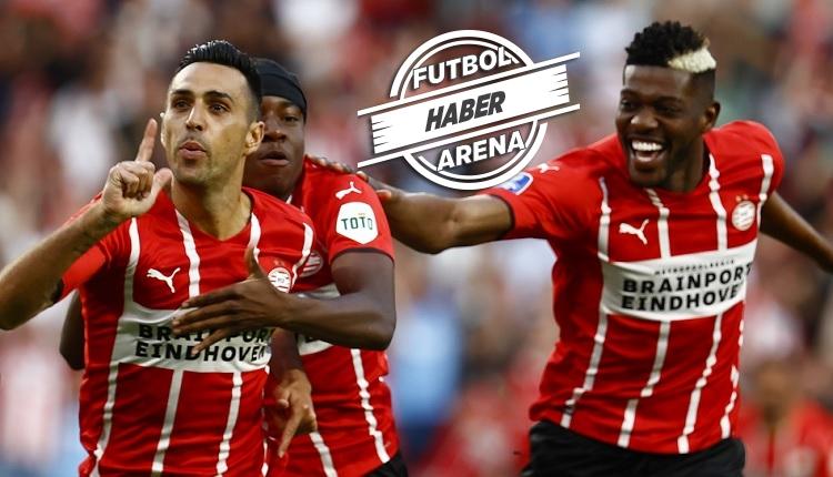 PSV 5-1 Galatasaray maç özeti ve golleri