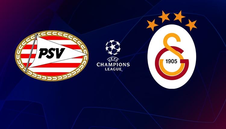 PSV - Galatasaray ilk 11'ler
