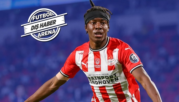PSV'nin genç yıldızı Madueke'den Galatasaray açıklaması