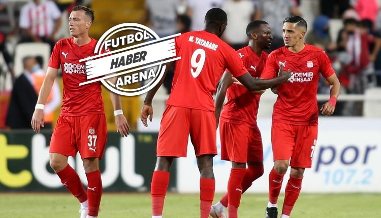Sivasspor 1-0 Petrocub | Yiğidolar Avrupa'da üst turda