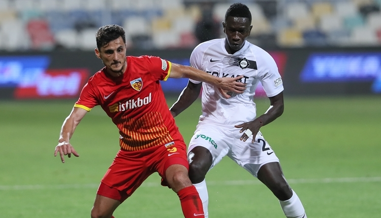 Altay 3-0 Kayserispor maç özeti ve golleri (İZLE)