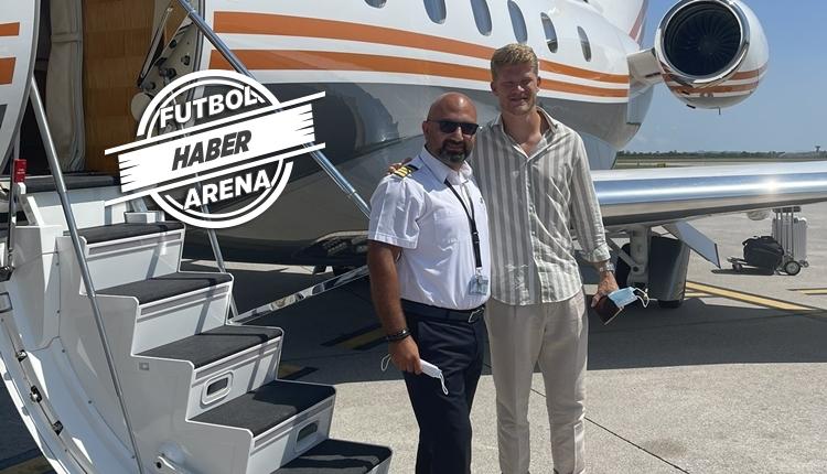 Andreas Cornelius, Trabzonspor'da! Türkiye'ye geldi