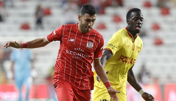 Antalyaspor 1-1 Göztepe maç özeti ve golleri (İZLE)