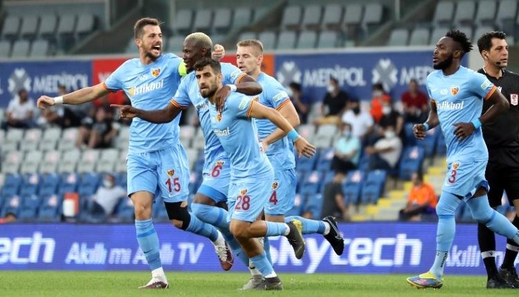 Başakşehir 0-1 Kayserispor maç özeti ve golü (İZLE)