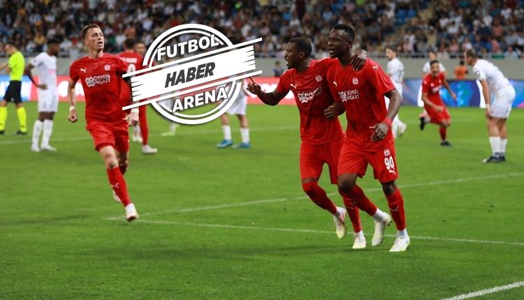 Dinamo Batumi 1-2 Sivasspor maç özeti ve golleri (İZLE)