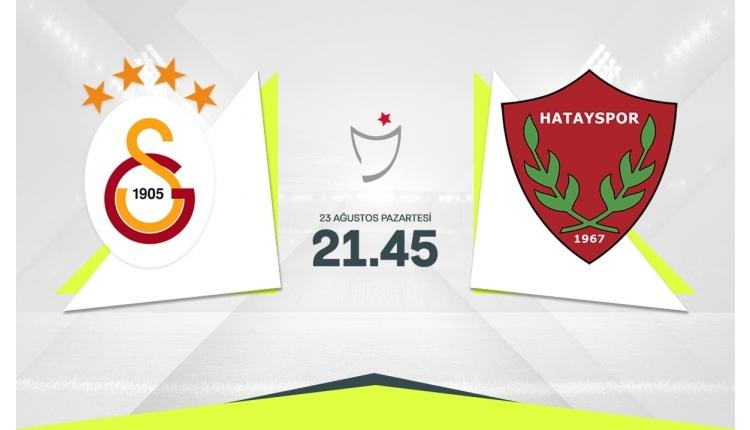 Galatasaray-Hatayspor canlı maç izle, Galatasaray-Hatayspor şifresiz maç izle (Galatasaray-Hatayspor beIN Sports canlı izle, Galatasaray-Hatayspor şifresiz İZLE)