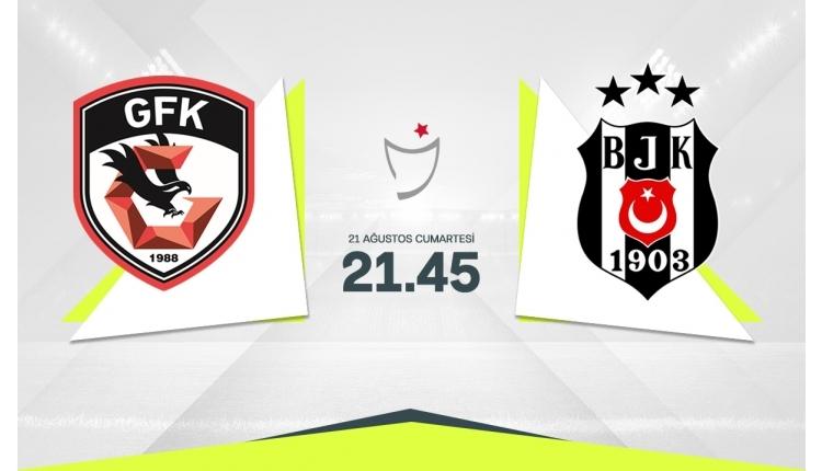 Gaziantep FK-Beşiktaş canlı izle, Gaziantep FK-Beşiktaş şifresiz izle (Gaziantep FK-Beşiktaş beIN Sports canlı ve şifresiz İZLE)