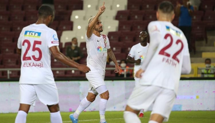 Hatayspor 5-0 Alanyaspor maç özeti ve golleri (İZLE)