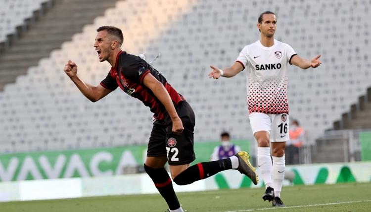 Karagümrük 3-2 Gaziantep FK maç özeti ve golleri (İZLE)